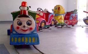 Mini Train on tracks
